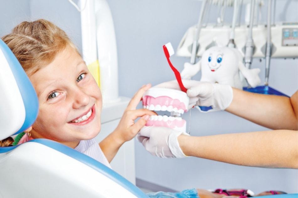 Детская чистка зубов! Бибирево